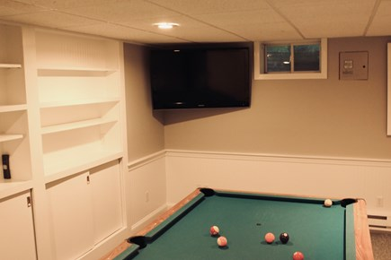 Sandwich Cape Cod vacation rental - Game room