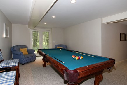 Orleans Cape Cod vacation rental - Game room lower level