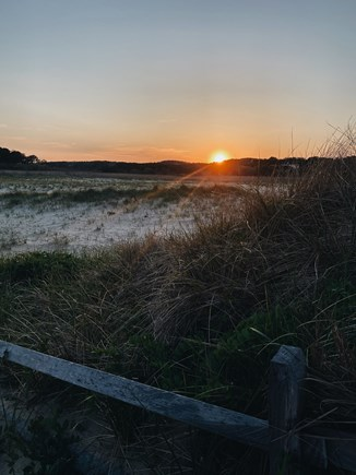 Truro, Ballston Beach Cape Cod vacation rental - Sunset view from Beach House