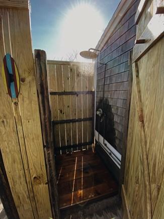 Truro, Ballston Beach Cape Cod vacation rental - Outdoor shower