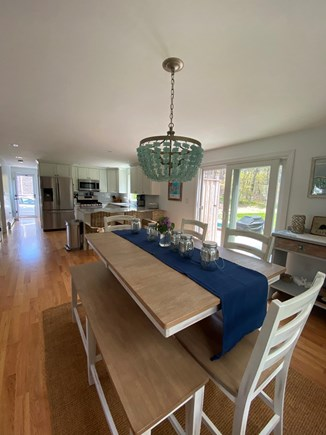 Harwich Cape Cod vacation rental - The dining area offers lots of seating for families