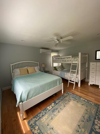 Harwich Cape Cod vacation rental - Twin bunk beds and queen