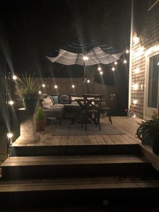 Harwich Cape Cod vacation rental - Enjoy the deck at night