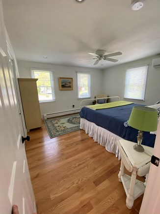 Harwich Cape Cod vacation rental - King size bed on the first floor has full size bath across hall