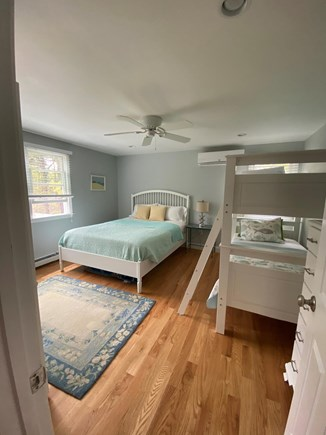 Harwich Cape Cod vacation rental - Queen bed and set of bunk beds make this a great family bedroom