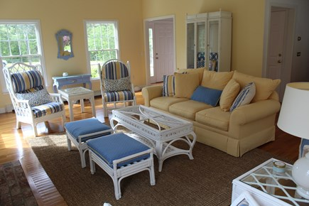 Chatham Cape Cod vacation rental - Large family room open to kitchen and dining room