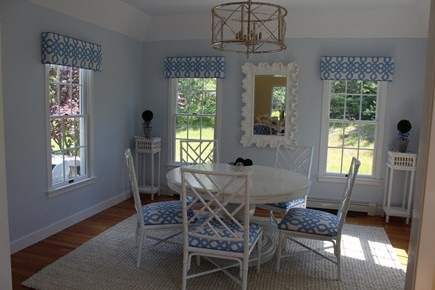 Chatham Cape Cod vacation rental - Dining room open to private yard