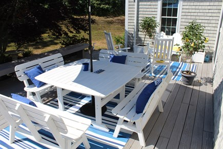 Chatham Cape Cod vacation rental - Large deck, perfect for entertaining!