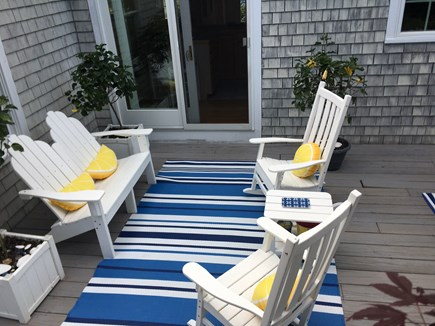 Chatham Cape Cod vacation rental - Lovely private deck