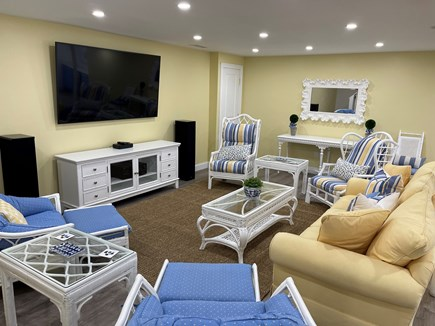 Chatham Cape Cod vacation rental - Home theatre, second family room lower level