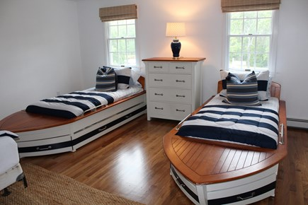 Chatham Cape Cod vacation rental - Pottery Barn boat beds! There are pull out trundles as well.