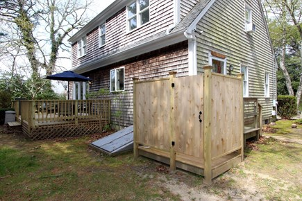 Chatham, 26 Andover Drive Cape Cod vacation rental - Exterior rear/outdoor shower