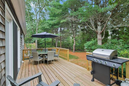 Chatham, 26 Andover Drive Cape Cod vacation rental - Deck
