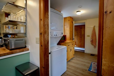 Orleans Cape Cod vacation rental - Laundry on main level next to kitchen