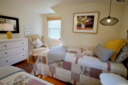 Orleans Cape Cod vacation rental - Bedroom 4 - second floor, two twins with window AC unit