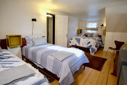 Orleans Cape Cod vacation rental - Bedroom 5 - second floor, two twins and double/full w/ central AC