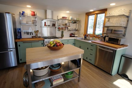 Orleans Cape Cod vacation rental - Beautifully renovated farmhouse kitchen