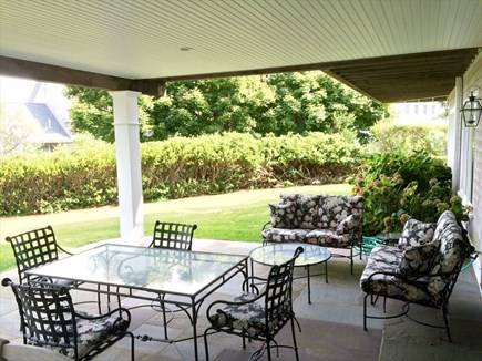 Barnstable, Hyannis Port Cape Cod vacation rental - Seating in yard