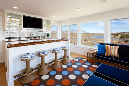 Barnstable, Hyannis Port Cape Cod vacation rental - Third level bar room overlooking the water