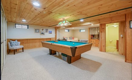 Centerville Cape Cod vacation rental - Finished basement w/ pool table to send away kids or husbands!