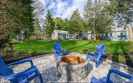 Centerville Cape Cod vacation rental - Our fire pit is perfect for making s'mores and memories.
