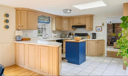 Centerville Cape Cod vacation rental - The fully equipped kitchen has a gas range, microwave, dishwasher