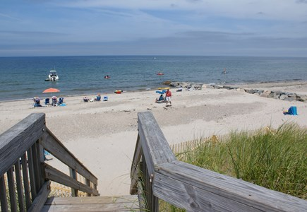 East Sandwich Cape Cod vacation rental - Walk to the Private Association beach on Cape Cod Bay.