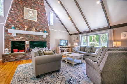 East Sandwich Cape Cod vacation rental - Dramatic interior with open floor plan.
