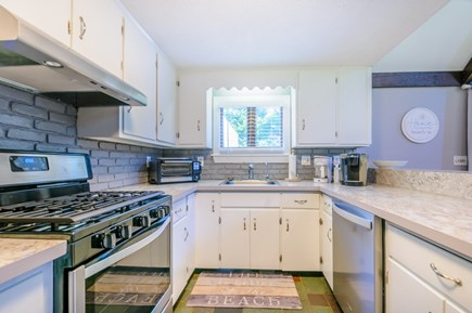 East Sandwich Cape Cod vacation rental - Gorgeous Kitchen with granite counters and high end appliances.