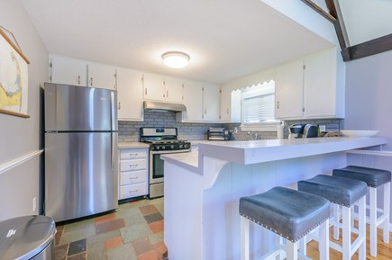 East Sandwich Cape Cod vacation rental - Enjoy a quick cup of coffee at the breakfast bar.