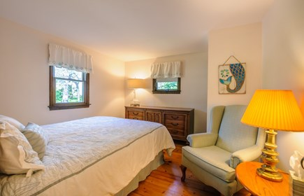 East Sandwich Cape Cod vacation rental - Bedroom with Queen on first floor.