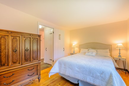 East Sandwich Cape Cod vacation rental - Bedroom 2 with Queen on first floor.