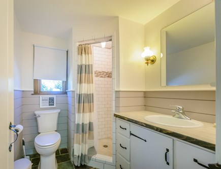 East Sandwich Cape Cod vacation rental - Full Bath with shower on first floor.