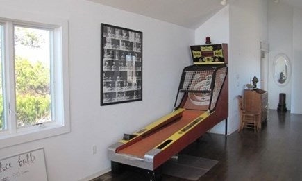 Truro Cape Cod vacation rental - Skee Ball!