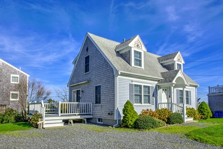 Sandwich Cape Cod vacation rental - Front view of house