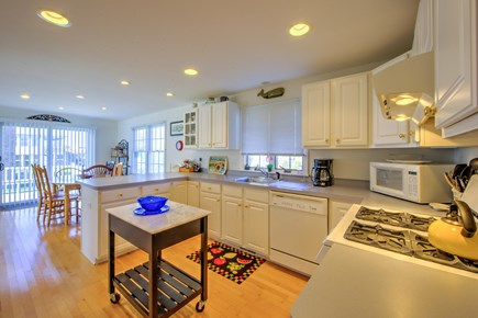 Sandwich Cape Cod vacation rental - Spacious Kitchen opens to Dining area