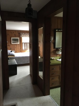 Brewster Cape Cod vacation rental - Master with ensuite bath.