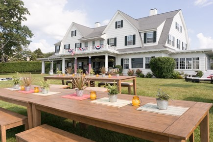 Hyannis Port Cape Cod vacation rental - Lawn Party- Cottage located behind Estate House