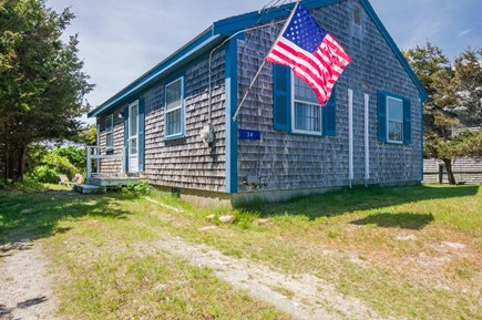 East Sandwich Cape Cod vacation rental - Roadside view of cottage.
