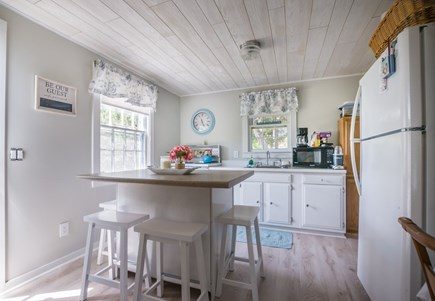 East Sandwich Cape Cod vacation rental - Dine at the high top counter in Kitchen.