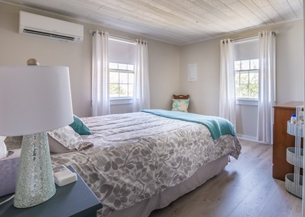 East Sandwich Cape Cod vacation rental - Bedroom with Queen has AC wall unit.