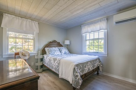 East Sandwich Cape Cod vacation rental - Bedroom with Double has AC wall unit.