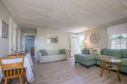 East Sandwich Cape Cod vacation rental - Hall to Bedrooms is off Living area.