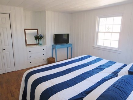 Chatham Cape Cod vacation rental - Bedroom #2 with king bed and TV