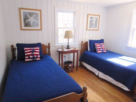 Chatham Cape Cod vacation rental - Bedroom #3 with twin beds