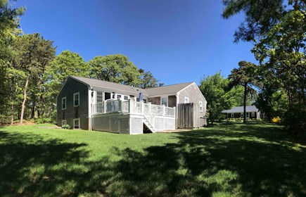Chatham Cape Cod vacation rental - Backyard perfect for games