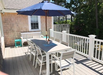 Chatham Cape Cod vacation rental - Outdoor patio with gas grill & outdoor shower