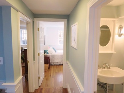 Chatham Cape Cod vacation rental - Downstairs area with two bedrooms and bathroom