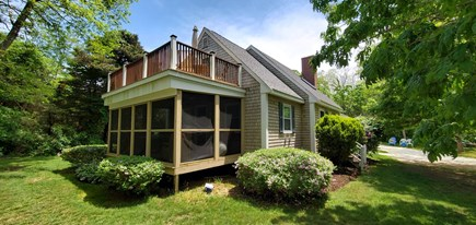Eastham Cape Cod vacation rental - Screen Porch and Upper Level Deck
