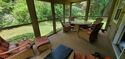 Eastham Cape Cod vacation rental - Screen Porch